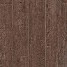 Maduro Dark Wood Plank Ceramic Tile 8in X 40in