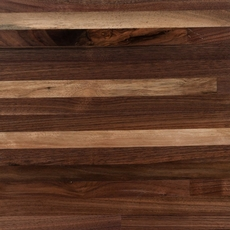 Black Walnut Builder Grade Butcher Block Countertop 8ft