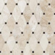 Avillano Impero Reale Dia Diamond Polished Marble Mosaic