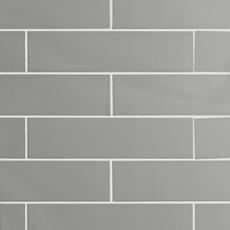 Metro Taupe Glossy Ceramic Tile