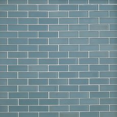 Spa 2 x 6 in. Brick Glass Mosaic