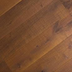 Smoked White Oak Wire Brushed Engineered Hardwood