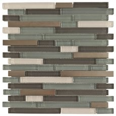 Aruba II Stick Glass Mosaic