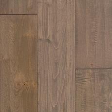 Greige Maple Hand Scraped Solid Hardwood