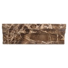 Dark Emperador Marble Crown Molding