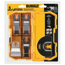 DeWalt Oscillating Blade 5 Piece Set