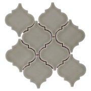 Villa Heirloom Willow Arabesque Porcelain Mosaic