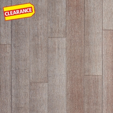 Clearance! Vetust Gray Wire Brushed Locking Stranded Bamboo