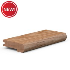 New! Solid Oak 1400 Stair Nose Molding