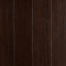 EcoForest Walnut Hand Scraped Solid Stranded Bamboo