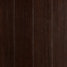 Walnut Hand Scraped Solid Stranded Bamboo