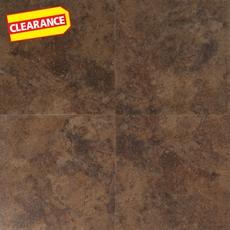 Clearance! Adobe Sand Groutable Vinyl Tile