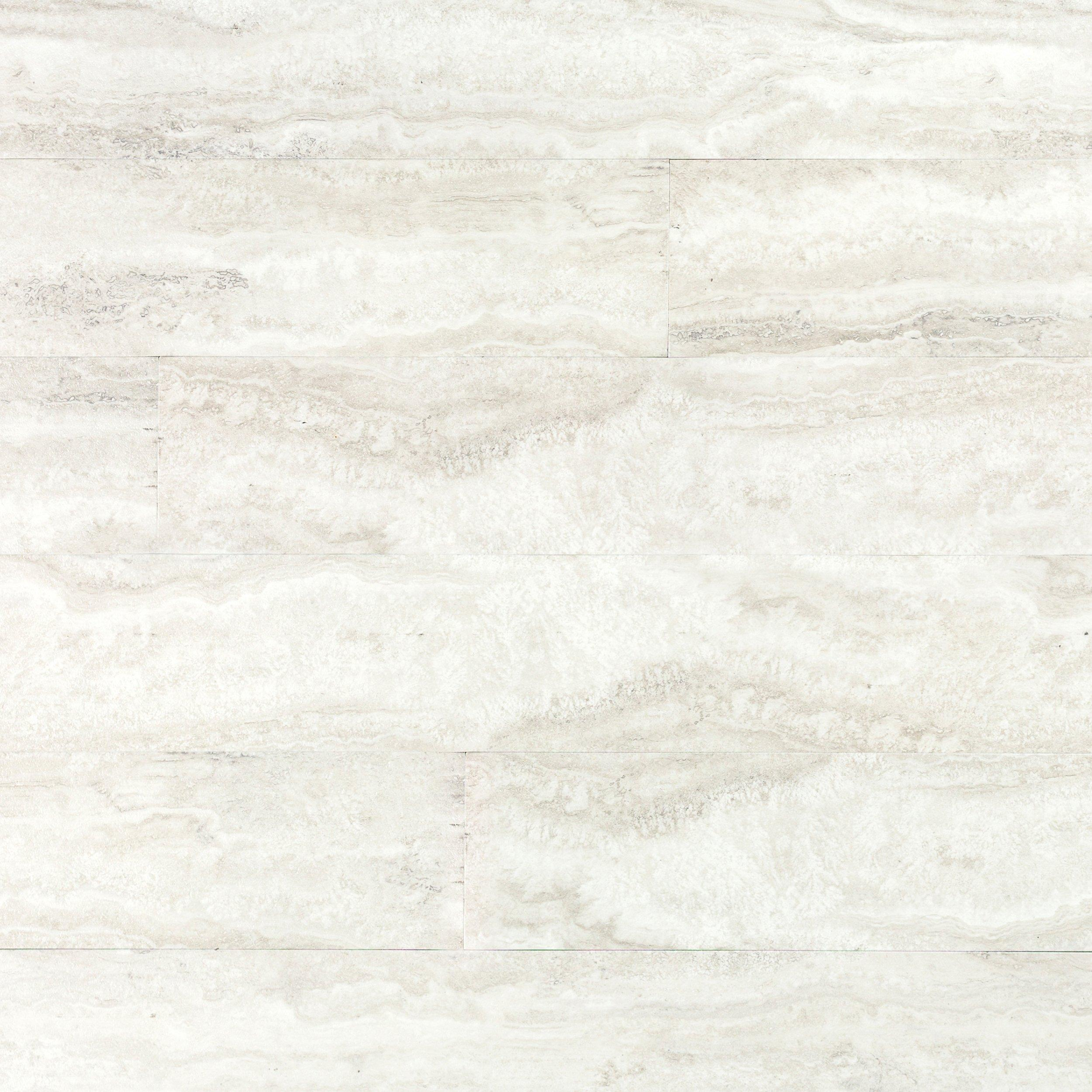 Artic White Groutable Vinyl Plank Tile   6in. X 36in.   100185933 | Floor  And Decor