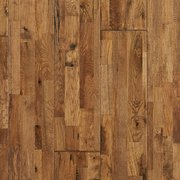 Heritage Oak Hand Scraped Wire Brushed Solid Hardwood