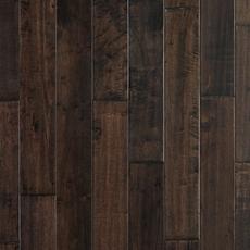 Brown Hevea Hand Scraped Solid Hardwood