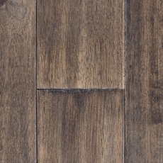 Sephora Gray Hevea Hand Scraped Solid Hardwood