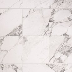 Carrara Arabescato Porcelain Tile