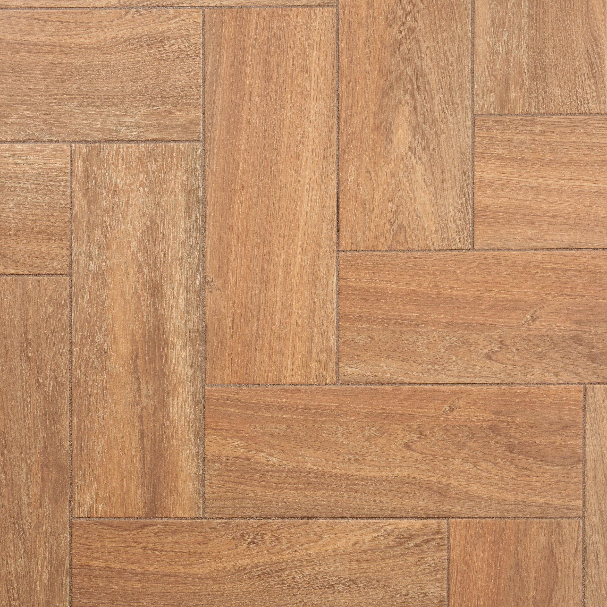Clearance! Addison Oak Wood Plank Ceramic Tile