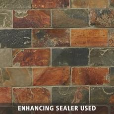 Multicolor Brick Slate Mosaic 12 X 12 100192947