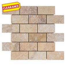 Clearance! Scabas Limestone Mosaic