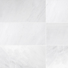 Carrara White Antique Marble Tile