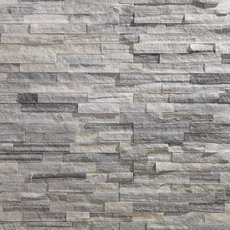 Devon Gray Splitface Quartzite Panel Ledger