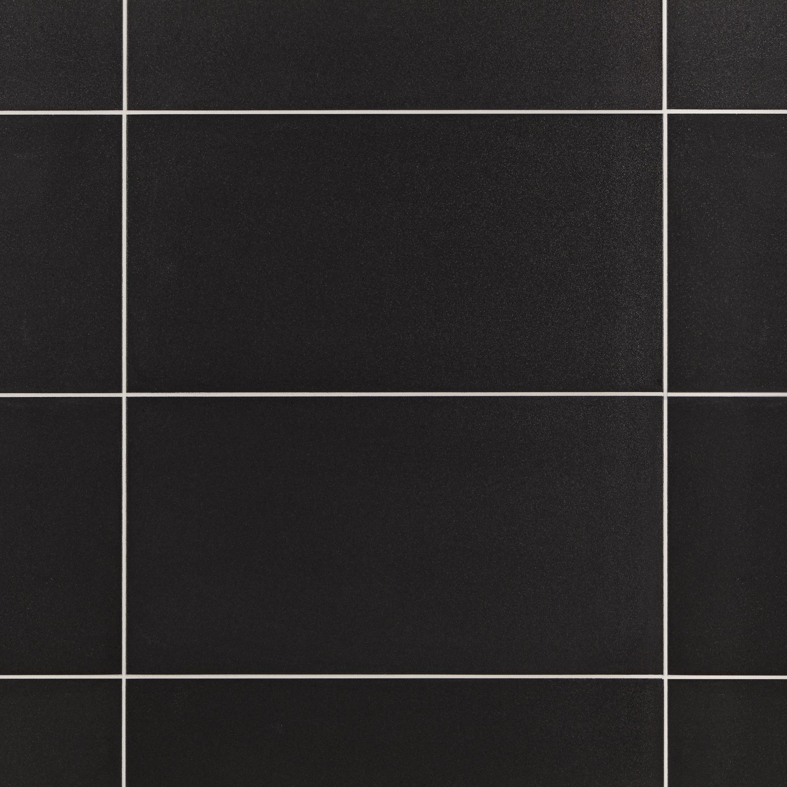 Super Black Porcelain Tile 12 X 24 912500186 Floor