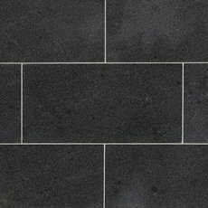 Black Brushed Limestone Tile 12 X 24 100046804 Floor