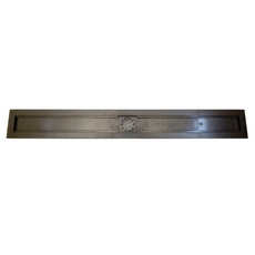 Compotite 36in. Linear Drain Body Black ABS Linear Shower Drain