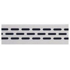 Compotite 42in. Oval Design Stainless Steel Grate