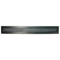Compotite 24in. Tile-in Top Black ABS Cover Plate
