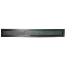 Compotite 36in. Tile-in Top Black ABS Cover Plate