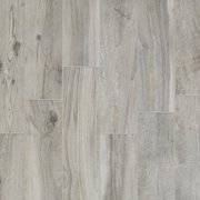 Hard Gray Wood Plank Porcelain Tile