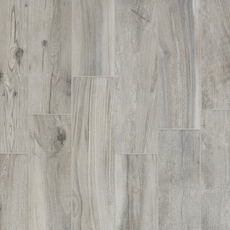 Hard Gray Wood Plank Porcelain Tile 6in X 24in