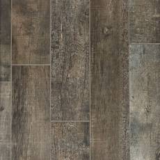 Frontier Dark Wood Plank Porcelain Tile