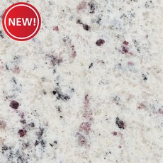 New! Sample - Custom Countertop White Orchid Granite