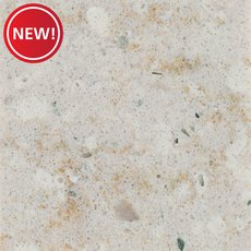 New! Sample - Custom Countertop Acadia Ivory Quartz