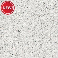 New! Sample - Custom Countertop Crystal White Quartz