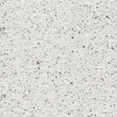 Sample - Custom Countertop Crystal White Quartz