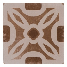 Barcelona Beige and Brown Ceramic Tile