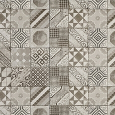 Castel Patchwork Gray Porcelain Tile 12 X 24 100211051