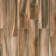 Marina Walnut Wood Plank Porcelain Tile