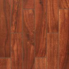Cottage Grove Red Wood Plank Porcelain Tile