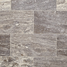 Aqua Silver Vein Cut Travertine Tile