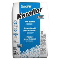 Mapei Keraflor Gray Floor Tile Thin-Set Mortar