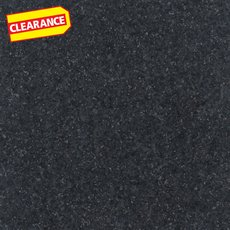 Clearance! Ready To Install Absolute Black Honed Granite Slab Includes Backsplash