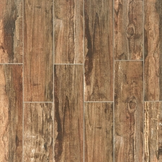 Westford Brown Wood Plank Porcelain Tile 6 X 24