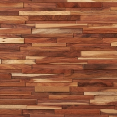 Dimensions Hardwood Small Leaf Acacia Wall Plank Panel