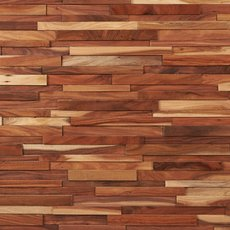Small Leaf Acacia Hardwood Wall Plank Panel