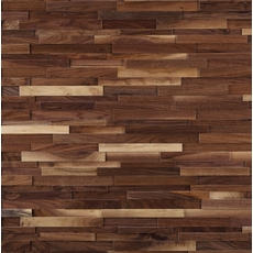 Dimensions Hardwood Black Walnut Wall Plank Panel 1 2in